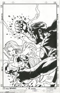 Original Comic Art:Covers, Terry Dodson and Karl Story - Storm #4 Cover Original Art (Marvel,1996). Ororo Munroe, a.k.a. Storm, takes on the portal-ju...