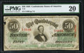 Confederate Notes:1863 Issues, T57 $50 1863 PF-1 Fr. 406.. ...