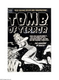 Original Comic Art:Covers, Lee Elias - Tomb of Terror #7 Cover Original Art (Harvey, 1953). Asimple but evocative composition from the underrated Lee ...
