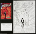 "Original Comic Art:Covers, Mike Esposito - The Amazing Spider-Man #50 Cover RecreationOriginal Art (2004). ""With great power comes great responsibilit..."