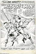 Original Comic Art:Splash Pages, Don Heck and Frank McLaughlin - The Avengers #109, Splash Page 1Original Art (Marvel, 1973). A certain Hawkeyed Archer pour...