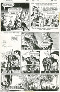 Original Comic Art:Panel Pages, Michael Kaluta - The Shadow #4, page 19 Original Art (DC, 1974). After Homer Bliss and his captive have faded into the dark,...