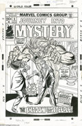 Original Comic Art:Covers, Gil Kane and Frank Giacoia - Journey Into Mystery #5 Cover OriginalArt (Marvel, 1973). Penciler Gil Kane and inker Frank Gi... ( )