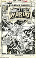 Original Comic Art:Covers, Gil Kane and Bob Wiacek - Marvel Classic Comics #21 Cover OriginalArt (Marvel, 1977). Penciler Gil Kane and inker Bob Wiace... ( )