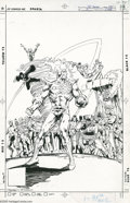 Original Comic Art:Covers, Rafael Kayanan and Dick Giordano - The Fury of Firestorm Annual #2Cover Original Art (DC, 1984). Plagued by hallucinations,...