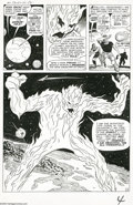 Original Comic Art:Panel Pages, Jack Kirby and Dick Ayers - Strange Tales #76, page 4 Original Art(Marvel, 1960)....
