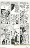 Original Comic Art:Panel Pages, Jack Kirby and George Klein - Tales of Suspense #24, page 3Original Art (Marvel, 1961). The malevolent tyrant Zemu looses t...