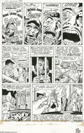 """Original Comic Art:Panel Pages, Jack Kirby and George Klein - Tales of Suspense #24, page 6Original Art (Marvel, 1961). """"Ask not for whom the bell tolls, i..."""