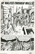 Original Comic Art:Splash Pages, Jack Kirby and Dick Ayers - Tales To Astonish #26 Splash Page 1Original Art (Marvel, 1961). Few comic book artists captured...