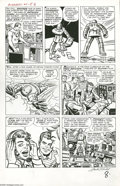 Original Comic Art:Panel Pages, Jack Kirby and Dick Ayers - Avengers #1, page 6 Original Art(Marvel, 1963)....