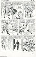 Original Comic Art:Panel Pages, Jack Kirby and George Roussos (as George Bell) - Fantastic Four#23, page 15 Original Art (Marvel, 1964). It's not wise to t...