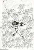 Original Comic Art:Covers, Frank Miller and Joe Sinnott - Spider-Woman #30 Cover Original Art(Marvel, 1980). One of the advantages of having compound ...