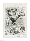 "Original Comic Art:Complete Story, Sheldon Moldoff - Crime Patrol #7, Complete 8-page Story, ""TheRocket in the Ruins!"" Original Art (EC, 1948). Only a frail g... (8Original Art)"