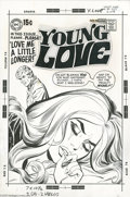Original Comic Art:Covers, Bob Oksner (attributed) and Vince Colletta - Young Love #80 CoverOriginal Art (DC, 1969). Liz is only the latest in a long ... (4items)