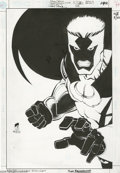 Original Comic Art:Covers, Roger Robinson and James Pascoe - Azrael: Agent of the Bat #63Cover Original Art (DC, 1999). After Bruce Wayne broke his ba...