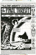 Original Comic Art:Splash Pages, Jim Starlin and Joe Rubinstein - The Avengers Annual #7, SplashPage 1 Original Art (Marvel, 1977). Anyone who has had the p...