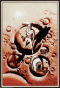 """Original Comic Art:Covers, Wally Wood - """"Colonial Survey"""" Book Cover Original Art (Gnome Press, 1957). The legendary Wally Wood offers a cover for the..."""