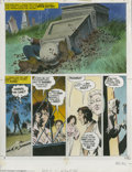 Original Comic Art:Panel Pages, Bernie Wrightson - Creepshow. page 12 Original Art (Signet, 1982).With Hank out of the way, Nate makes his way to the main ...