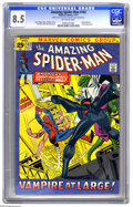 Bronze Age (1970-1979):Superhero, The Amazing Spider-Man #102 (Marvel, 1971) CGC VF+ 8.5 Off-white pages. Origin and second appearance of Morbius. The Lizard ...
