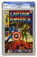 Silver Age (1956-1969):Superhero, Captain America #119 (Marvel, 1969) CGC NM 9.4 Off-white pages. Red Skull appearance. Gene Colan cover. Colan and Joe Sinnot...
