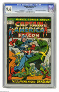 Bronze Age (1970-1979):Superhero, Captain America #147 (Marvel) CGC NM+ 9.6 White pages. Kingpin and Supreme Hydra appearances. Gil Kane and Joe Sinnott cover...