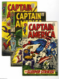 Bronze Age (1970-1979):Superhero, Captain America Group (Marvel, 1968-72) Condition: Average VG. Thirty one-issue lot includes #102, 103, 105, 106, 108, 114, ... (31 Comic Books)