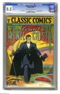 Golden Age (1938-1955):Classics Illustrated, Classic Comics #3 The Count of Monte Cristo - HRN 28 (Gilberton,1946) CGC VF+ 8.5 Light tan to off-white pages. Overstreet ...