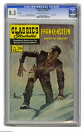 Golden Age (1938-1955):Miscellaneous, Classic Comics #26 Frankenstein - HRN 169 (Gilberton, 1969) CGC VF+ 8.5 Off-white to white pages. Version with 25-cent cover...