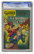 Golden Age (1938-1955):Classics Illustrated, Classics Illustrated #53 A Christmas Carol - Original Edition(Gilberton, 1948) CGC VF- 7.5 Cream to off-white pages. H. C. ...