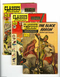 "Golden Age (1938-1955):Classics Illustrated, Classics Illustrated Group (Gilberton, 1946-58) Condition: AverageVG+. Six-issue group lot includes #31 (""The Black Arrow,""... (6Comic Books)"