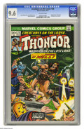 """Bronze Age (1970-1979):Horror, Creatures on the Loose #28 (Marvel, 1974) CGC NM+ 9.6 Off-whitepages. Adapted from """"The Wizard of Lemuria"""" by Lin Carter. J..."""