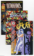 Modern Age (1980-Present):Miscellaneous, Dark Horse and Others Modern Group (Various Publishers, 1986-98) Condition: Average NM-. Full short box lot consists mostly ...