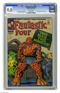 """Silver Age (1956-1969):Superhero, Fantastic Four #51 (Marvel, 1966) CGC VF/NM 9.0 Off-white pages. Classic """"This Man...This Monster"""" story. Second appearance ..."""