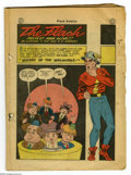 Golden Age (1938-1955):Superhero, Flash Comics #72 (DC, 1946) Condition: Coverless. Flash story with E. E. Hibbard art, guest-starring Winky, Blinky, and Nodd...