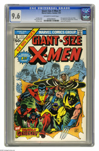 Giant-Size X-Men #1 (Marvel, 1975) CGC NM+ 9.6 Off-white to white pages. Ranked as the second-most valuable Bronze Age b...