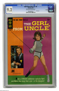 Silver Age (1956-1969):Miscellaneous, Girl From U.N.C.L.E. #4 File Copy (Gold Key, 1967) CGC NM- 9.2.Photo front and back covers featuring Stephanie Powers. Over...
