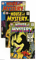Silver Age (1956-1969):Horror, House of Mystery Group (DC, 1959-62) Condition: Average VG.Eighteen-issue lot includes #83, 84 (Negative Man prototype), 88...(18 Comic Books)