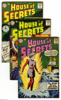 Silver Age (1956-1969):Mystery, House of Secrets #21-25 Group (DC, 1959) Condition: Average VG+.This group includes # 21, 22, 23 (the first appearance of M... (5Comic Books)