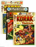 Bronze Age (1970-1979):Miscellaneous, Korak, Son of Tarzan #46-59 Group (DC, 1972-74) Condition: AverageVF/NM. Fifteen-issue lot includes #46 (Carson of Venus fe... (15Comic Books)