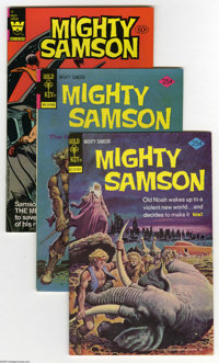 Mighty Samson File Copies Box Lot (Gold Key and Whitman, 1975-82) Condition: Average VF/NM. This full short box includes...