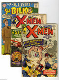 Silver Age (1956-1969):Miscellaneous, Miscellaneous Silver Age Group (Various, 1957-66). Twelve-issue lot includes X-Men #6 (GD-) and 10 (GD); Sgt. Bilko ... (12 Comic Books)