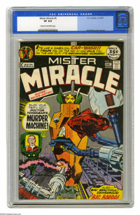Mister Miracle #5 (DC, 1971) CGC VF 8.0 Cream to off-white pages. 52 pages. Jack Kirby story, cover, and art. Overstreet...