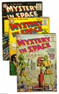 Golden Age (1938-1955):Science Fiction, Mystery in Space Group (DC, 1955-56) Condition: Average FN. Issues#25, 27, 29, and 30 are included here. Artists include Ca... (4Comic Books)