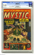 Golden Age (1938-1955):Horror, Mystic #11 Big Apple pedigree (Atlas, 1952) CGC GD/VG 3.0 Light tanto off-white pages. Myron Fass and John Romita Sr. art. ...