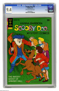 Bronze Age (1970-1979):Cartoon Character, Scooby Doo #18 File Copy (Gold Key, 1973) CGC NM 9.4 Off-white towhite pages. Overstreet 2005 NM- 9.2 value = $65. CGC cens...