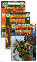 Bronze Age (1970-1979):Horror, Swamp Thing Group (DC, 1972-79) Condition: Average FN/VF.Seventeen-issue group lot includes Swamp Thing #2, 9, 10, 11, ...(17 Comic Books)