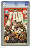 Bronze Age (1970-1979):Miscellaneous, Tor #1 (DC, 1975) CGC NM+ 9.6 White pages. New origin of Tor.Story, cover and art by Joe Kubert. Overstreet 2005 NM- 9.2 va...