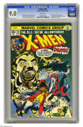 Bronze Age (1970-1979):Superhero, X-Men #94 (Marvel, 1975) CGC VF/NM 9.0 White pages. Debut of thenew X-Men in this series. Second appearance of Colossus, Ni...