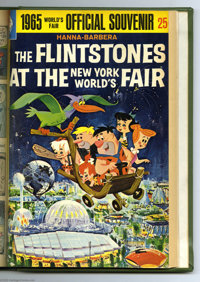 Gold Key Flintstones and Science Fiction Bound Volumes (Gold Key, 1965). These are Western Publishing file copies that h...