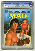 """Magazines:Mad, Mad #194 Gaines File pedigree (EC, 1977) CGC FN/VF 7.0 Off-whitepages. """"Rocky"""" and """"Laverne and Shirley"""" parodies. Jack Ric..."""
